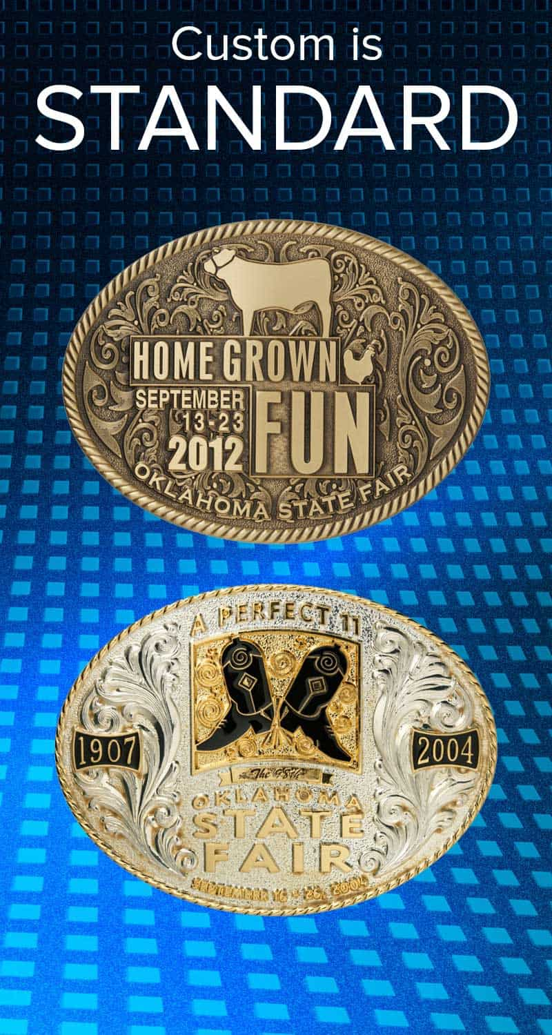 Medalcraft Mint Buckles