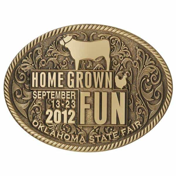 State Fair Buckle Medalcraft Mint Inc