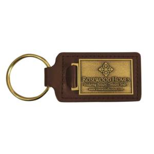 keychain-rosewood
