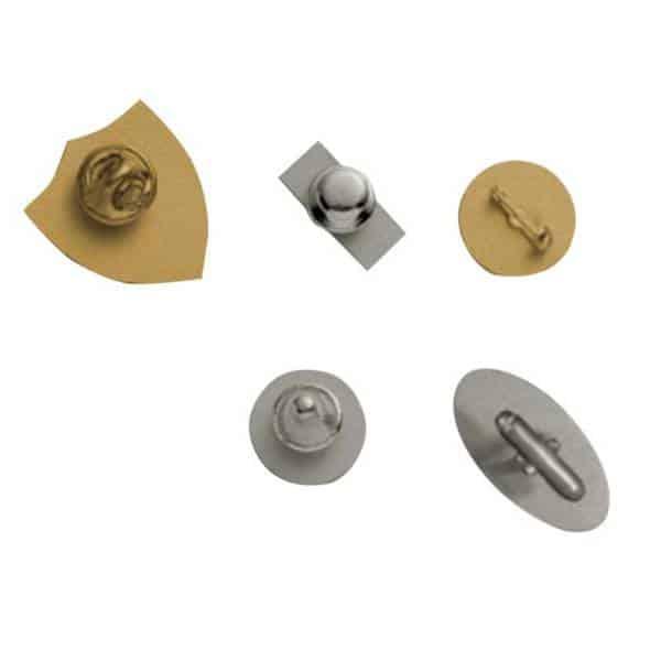 Medalcraft Mint Lapel Pin backs
