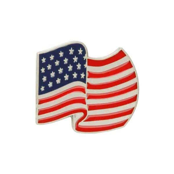 Medalcraft Mint Flag Lapel Pins