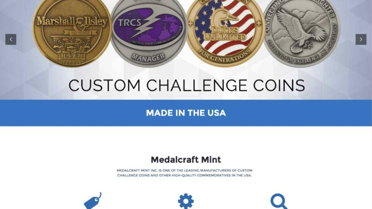 Medalcraft Mint, Inc. Launches Updated Website to Support Sellers of Commemoratives
