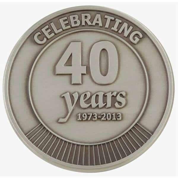 anniversary medallion