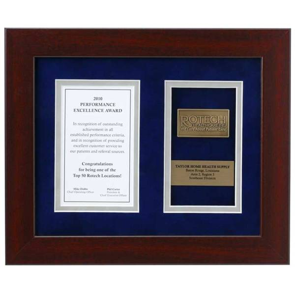 Plaques & Shadow Boxes Medalcraft Mint inc