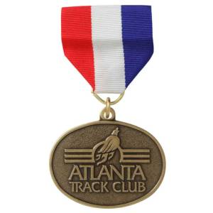 atlanta track club medal
