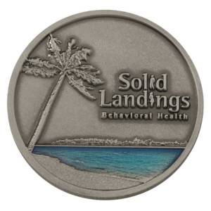 Solid Landings Challenge Coin-Medal Craft Mint Inc