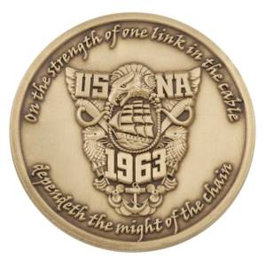 USNA Challenge Coin-Medalcraft Mint Inc