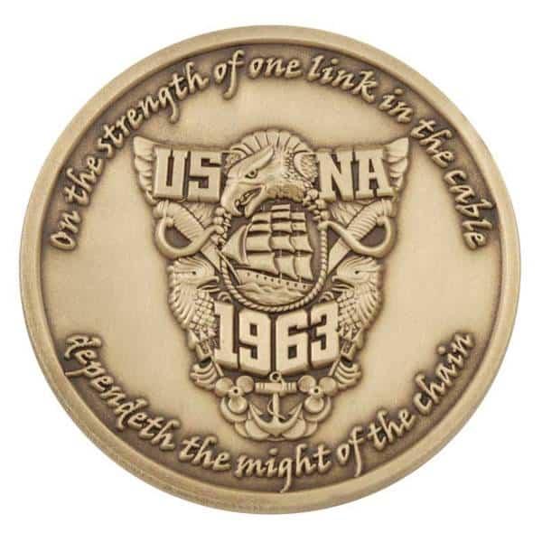 USNA Challenge Coin-Medalcraft Mint Inc