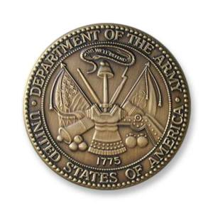 Army Medallion – 2-1/2″