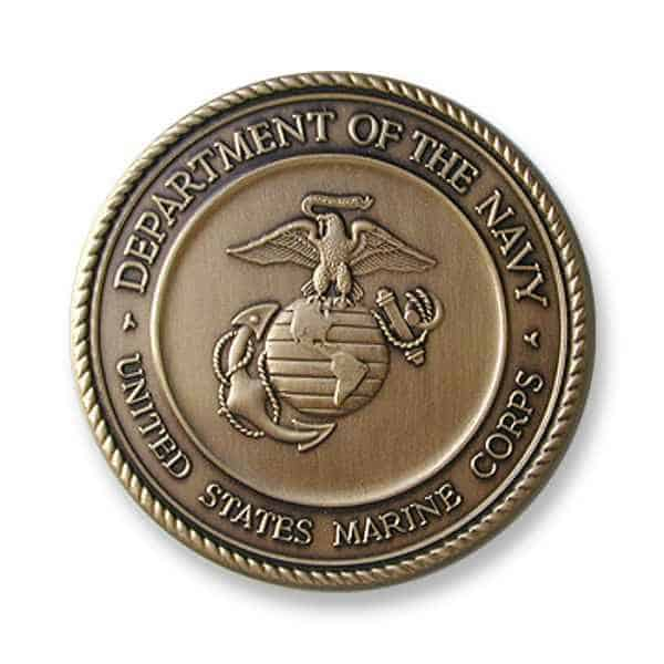 Marine Corps Medallion –Medalcraft Mint Inc