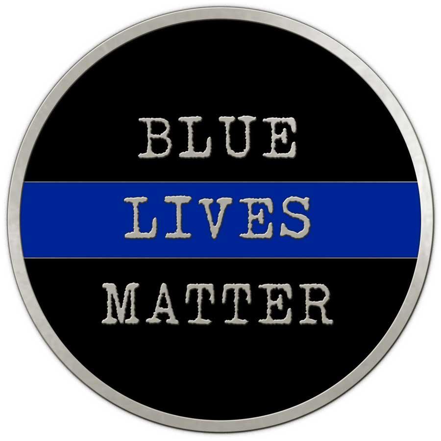 Blue Lives Matter Challenge Coin – Medalcraft Mint, Inc.