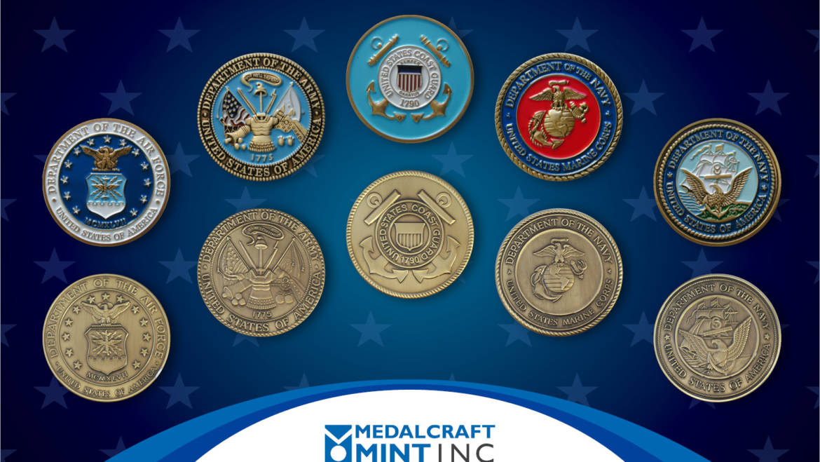 Medalcraft Mint Makes Its Custom Military Challenge Coins in the USA