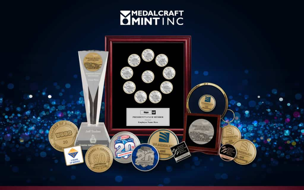 Medalcraft Mint anniversary gifts