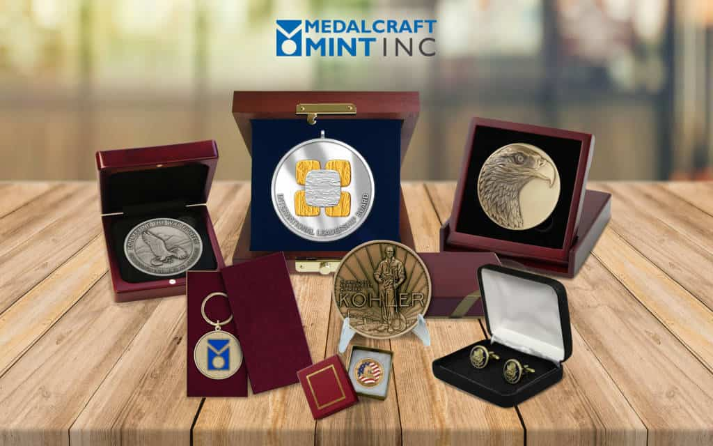 Medalcraft Mint coin packaging