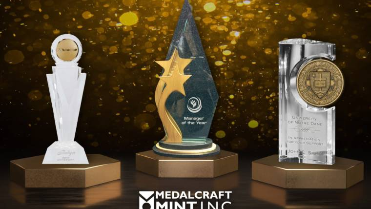 Crystal Awards Create a Special Touch of Class