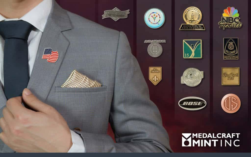 Medalcraft Mint Lapel Pins