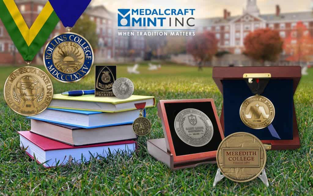 Medalcraft Mint Collegiate Medallions
