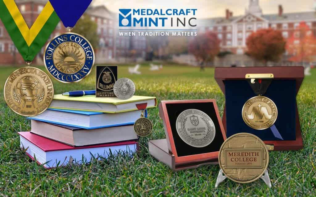 Medalcraft Mint Collegiate Medallions