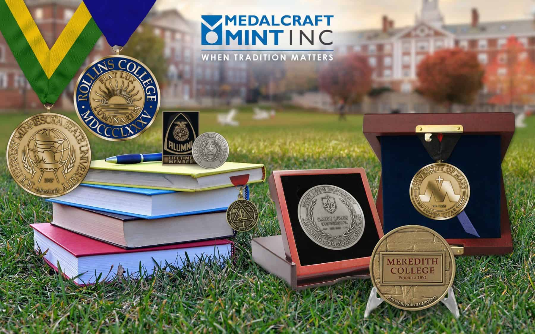 Collegiate Medallions Create Classy Keepsakes for All Occasions