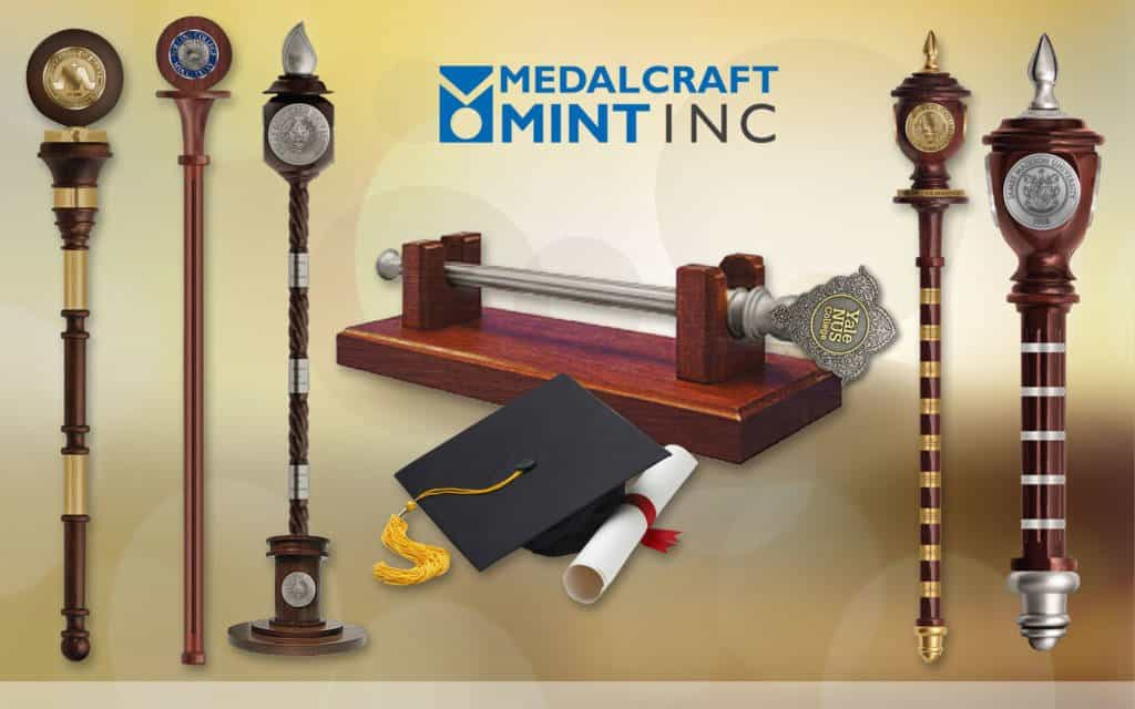 Medalcraft Mint Ceremonial Maces