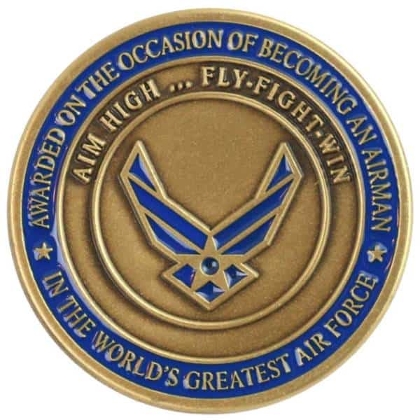Medalcraft Mint Air Force Challenge Coin