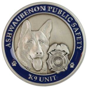 Public Safety Challenge Coin