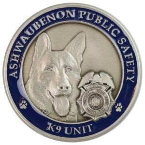 Public Safety Challenge Coin