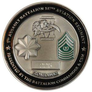Assault Battalion Challenge Coin