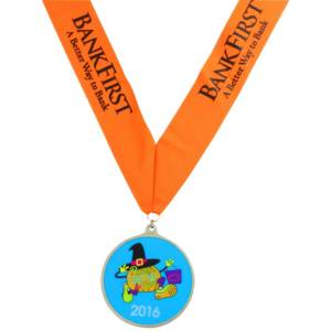 Glow Run Race Medal
