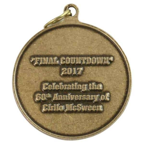 Medalcraft Mint Cirilo McSween Anniversary Medallion