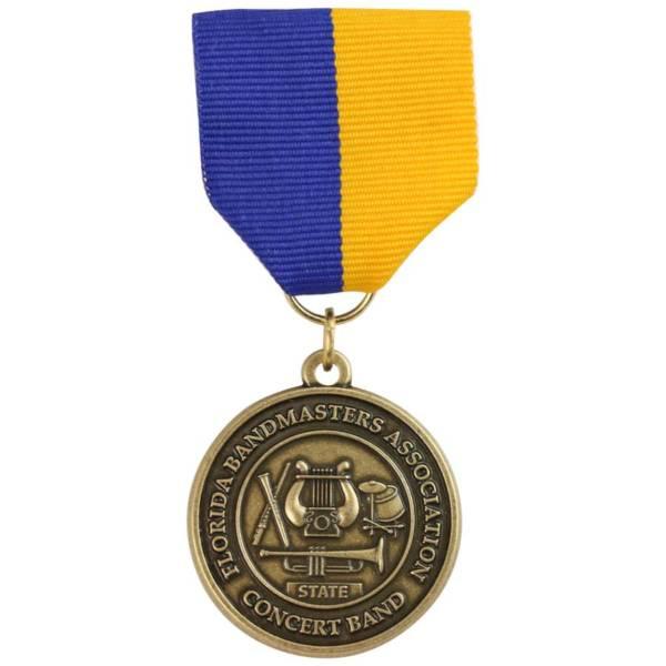Bandmaster Association Medal-Medal Craft Mint Inc