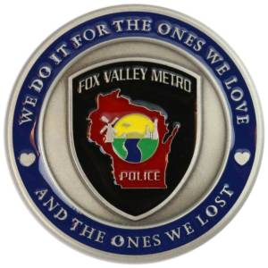 Fox Valley Metro Police Challenge Coin