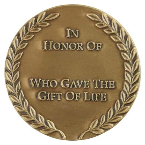 Gift of Life Medallion-Medal Craft Mint Inc