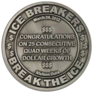 Ice Breakers Challenge Coin