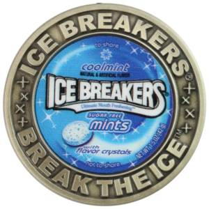 Ice Breakers Challenge Coin-Medal Craft Mint Inc