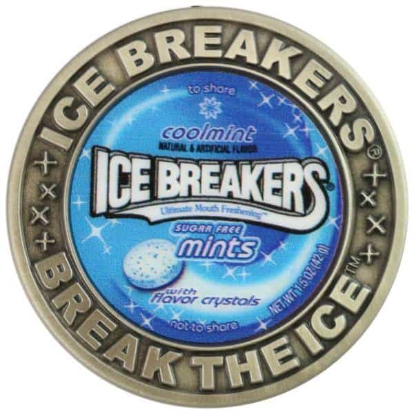 Ice Breakers Challenge Coin-Medalcraft Mint Inc
