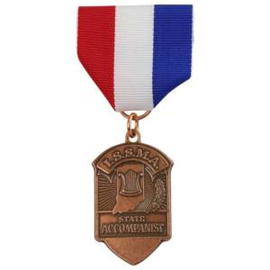 Indiana State School Music Association Medal-Medal Craft Mint Inc