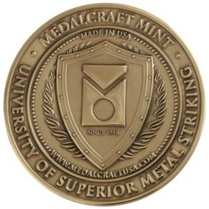 Medalcraft Mint Superior Metal Striking Medallion