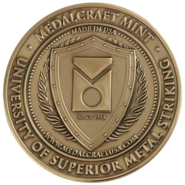 Medalcraft Mint Superior Metal Striking Medallion