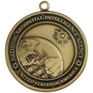 National Geospatial Intelligence Agency Medallion