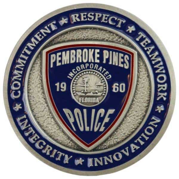 Medalcraft Mint Police Challenge Coin