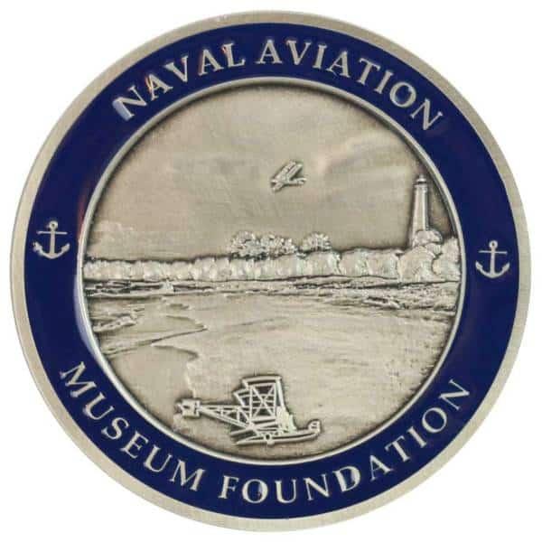 Medalcraft Mint Naval Aviation Challenge Coin back