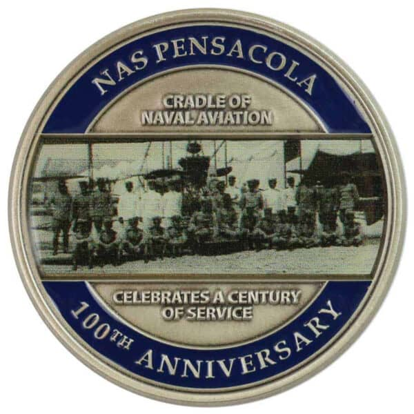 Pensacola Naval Aviation Challenge Coin-Medal Craft Mint Inc