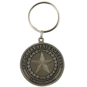 The Great State of Texas Keyring-Medal Craft Mint Inc
