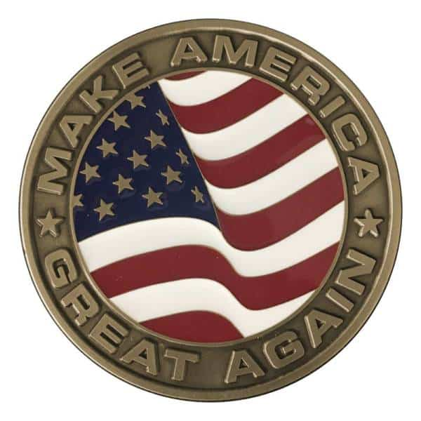 Medalcraft Mint Donald J. Trump Inaugural Medallion Back