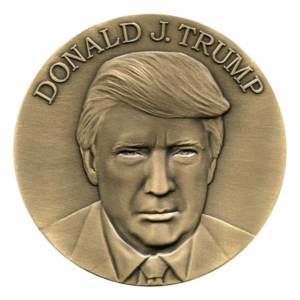 Donald J. Trump Inaugural Medallion