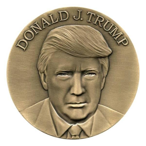 Medalcraft Mint Donald J. Trump Inaugural Medallion