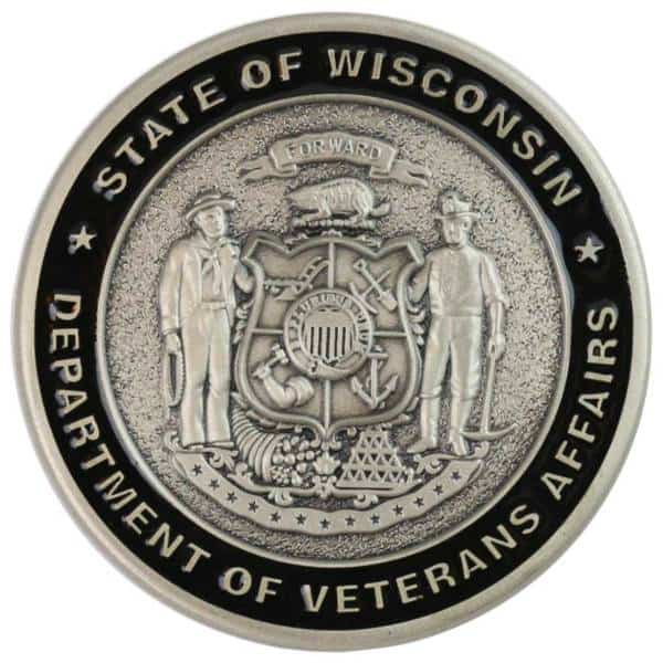 Veterans Affairs Challenge Coin Medalcraft Mint Inc