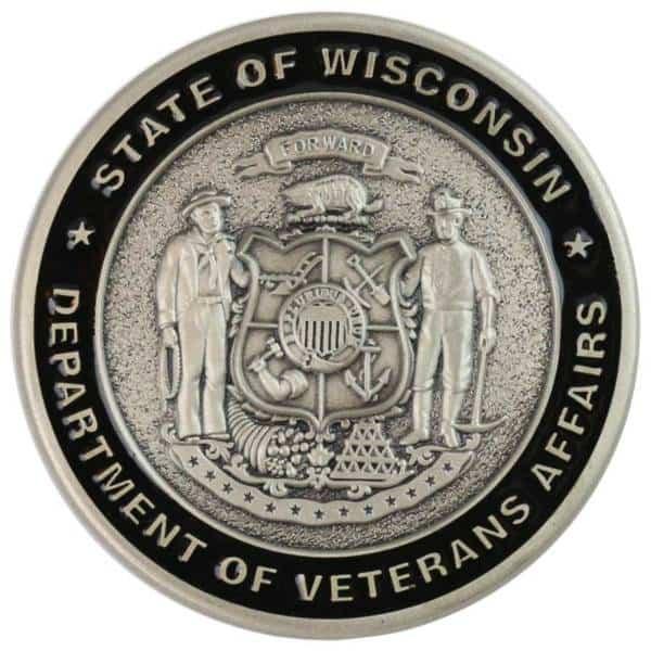 Medalcraft Mint Veterans Affairs Challenge Coin