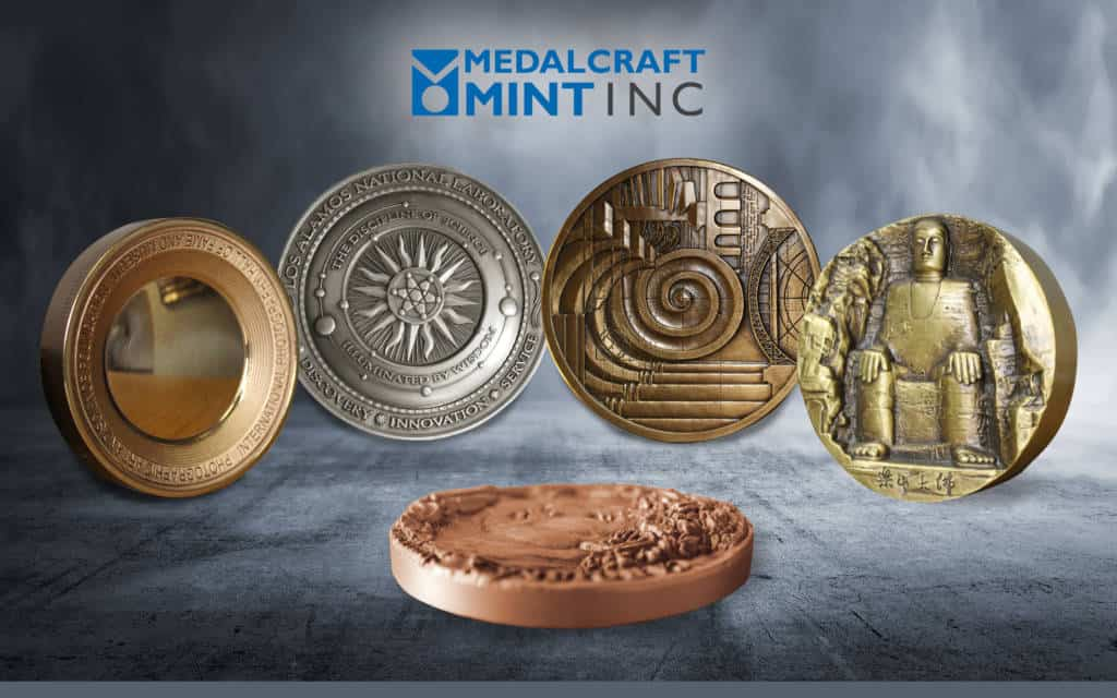 Medalcraft Mint 3 Dimensional Medallions
